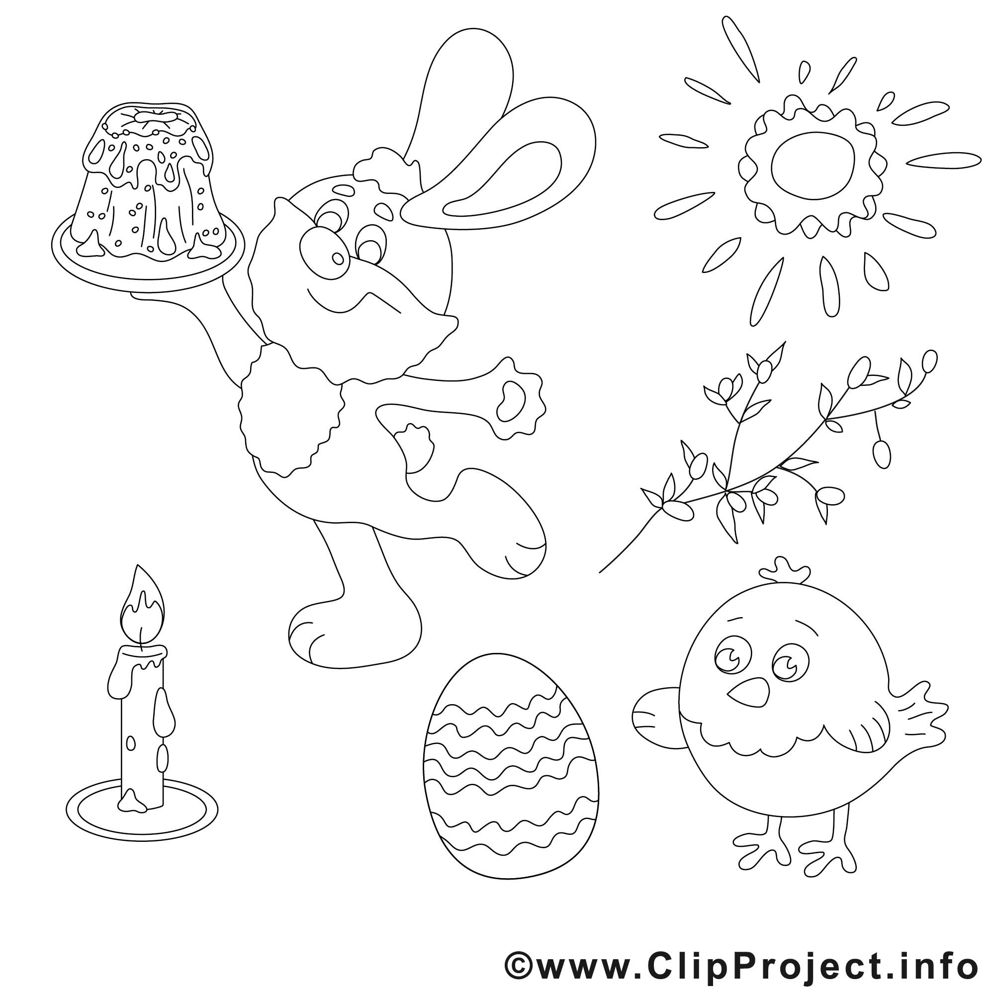 Ausmalbilder Für Ostern  Ausmalbilder fuer Ostern