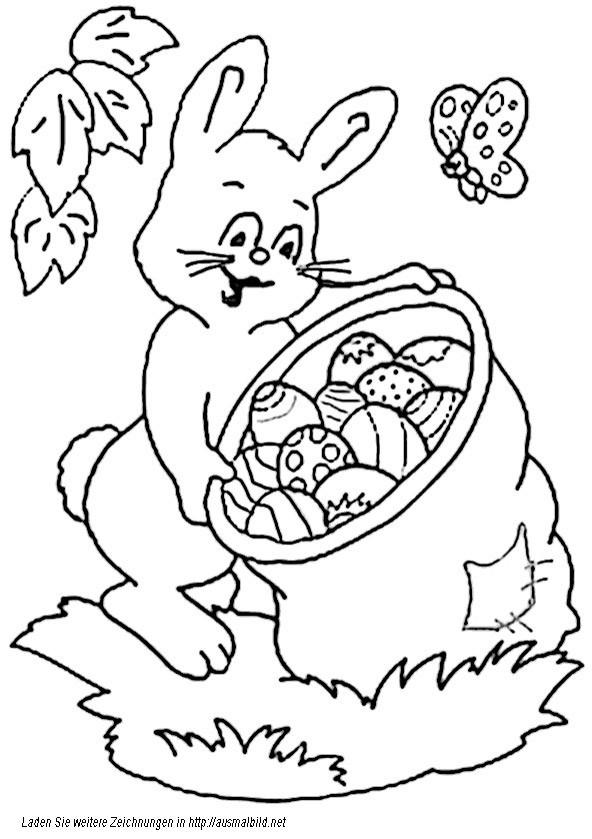 Ausmalbilder Für Ostern  Ostern 1