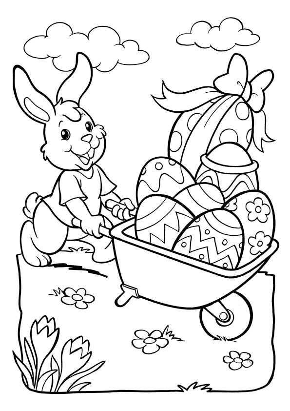 Ausmalbilder Für Ostern  Ausmalbilder Kostenlos Ostern 5