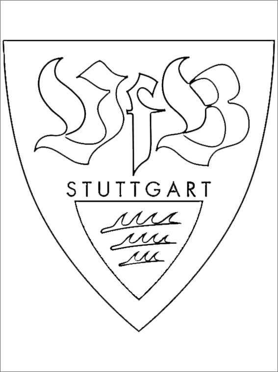 Ausmalbilder Fußball Wappen Zum Ausdrucken  Ausmalbilder kostenlos Fußball 30
