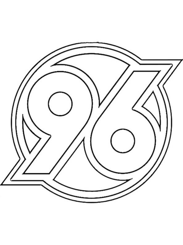 Ausmalbilder Fußball Wappen Zum Ausdrucken  Fußball 25