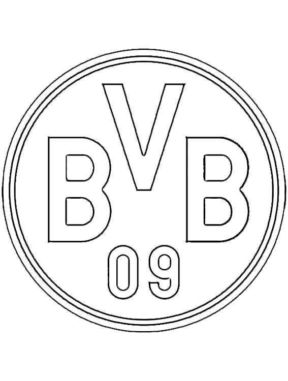 Ausmalbilder Fußball Wappen Zum Ausdrucken  Ausmalbilder kostenlos Fußball 18
