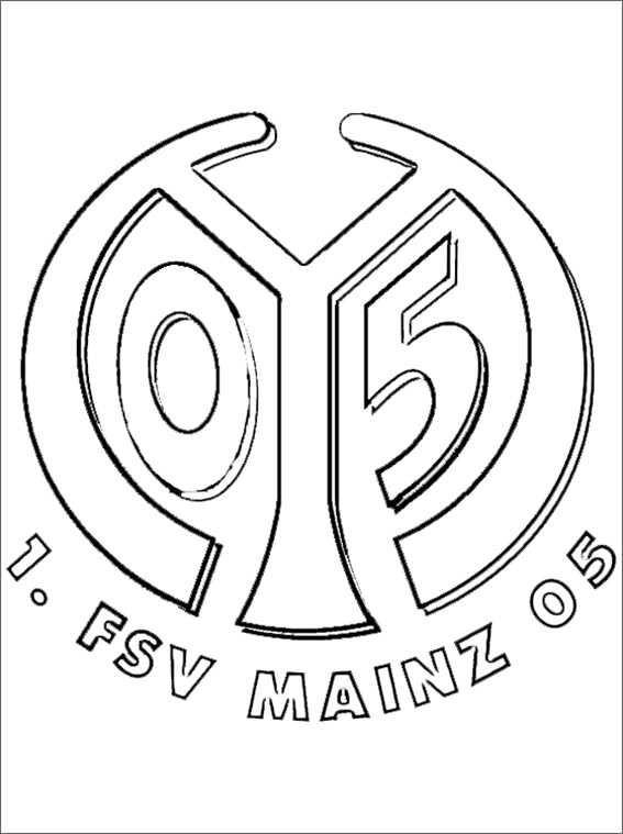 Ausmalbilder Fußball Wappen Zum Ausdrucken  Ausmalbilder kostenlos Fußball 26