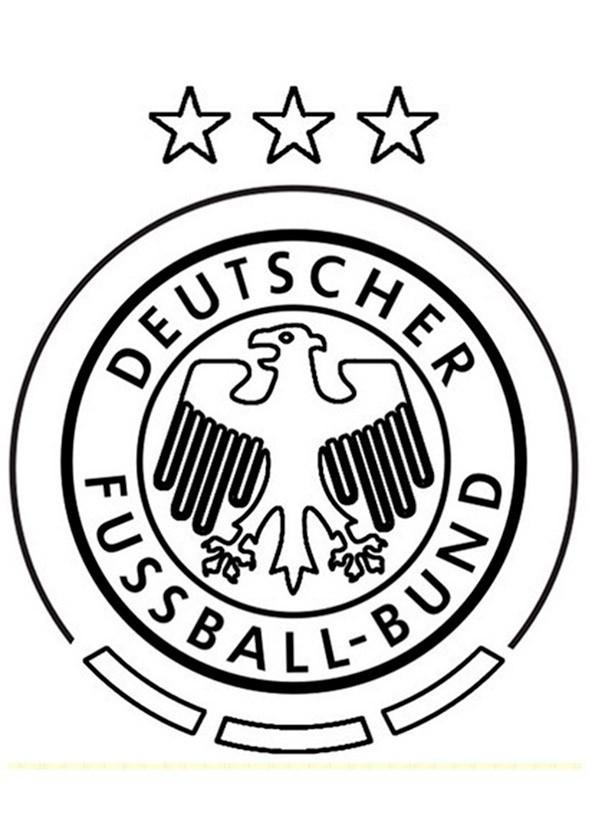 Ausmalbilder Fußball Wappen Zum Ausdrucken  Fußball 4