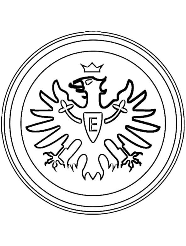 Ausmalbilder Fußball Wappen Zum Ausdrucken  Fußball 18