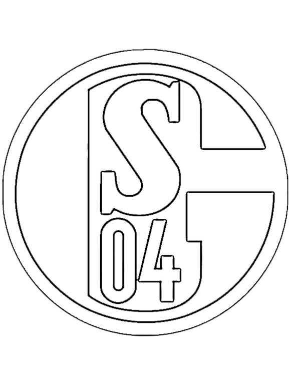 Ausmalbilder Fußball Wappen Zum Ausdrucken  Ausmalbilder kostenlos Fußball 28