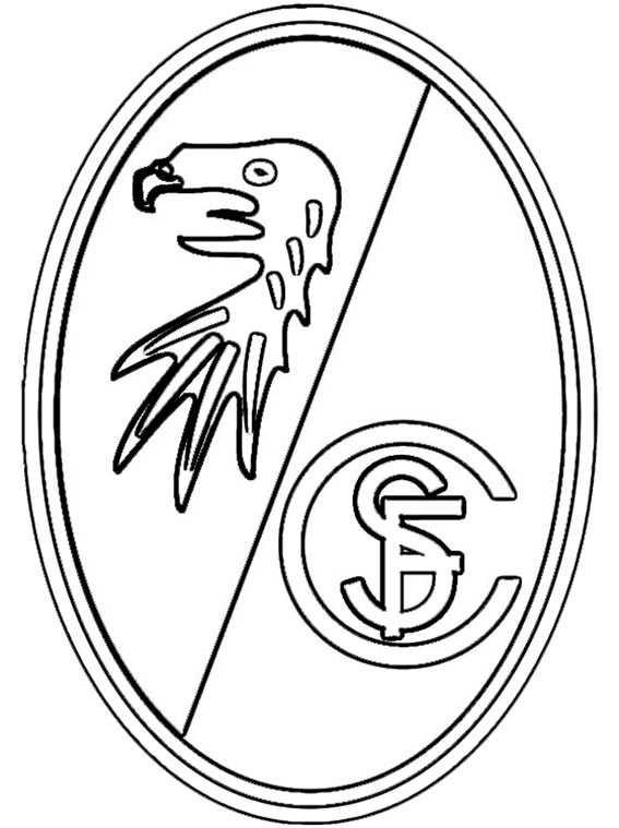 Ausmalbilder Fußball Wappen Zum Ausdrucken  Ausmalbilder kostenlos Fußball 29