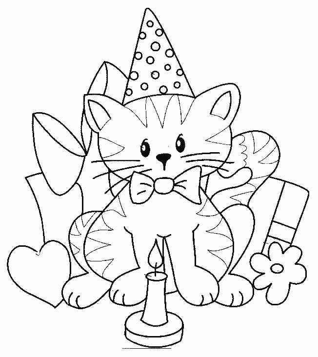 Ausmalbilder Geburtstag Zum Ausdrucken  Ausmalbilder geburtstag kostenlos Malvorlagen zum