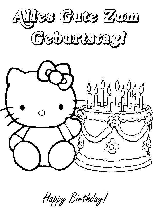 Ausmalbilder Geburtstag Zum Ausdrucken  Ausmalbilder Geburtstag 14