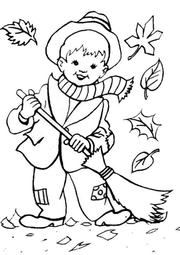 Ausmalbilder Herbst Drachen Kostenlos  Ausmalbilder kostenlos Herbst 6