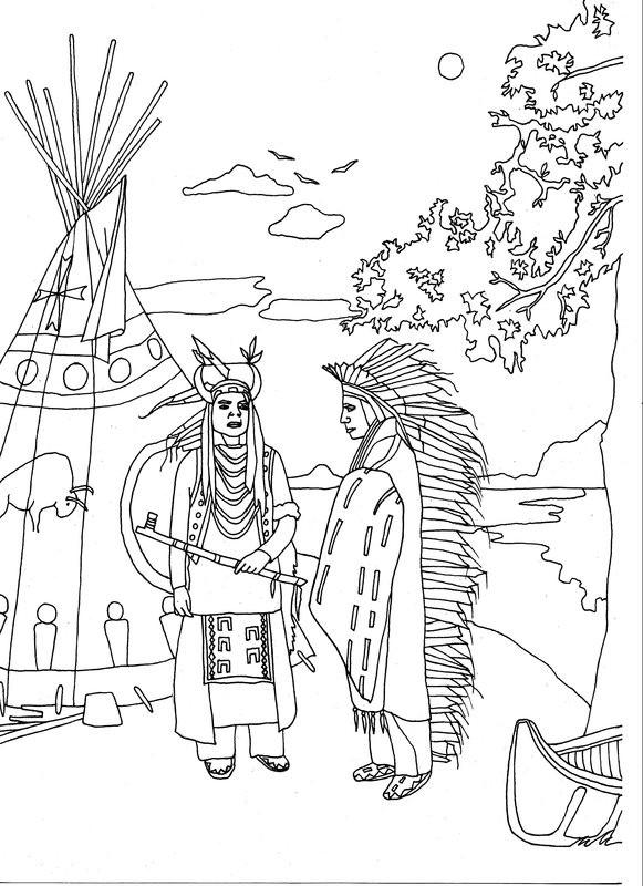 ausmalbilder cowboy und indianer kostenlos  kostenlos zum