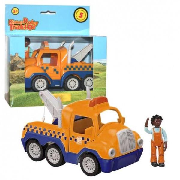 Ausmalbilder Kleiner Roter Traktor  Kleiner roter Traktor Schleppi & Nicola Kunststoff