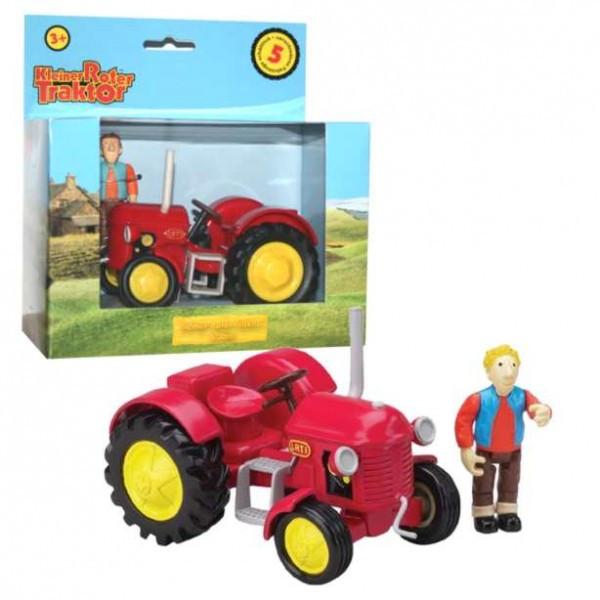 Ausmalbilder Kleiner Roter Traktor  Kleiner roter Traktor Traktor & Jan Kunststoff