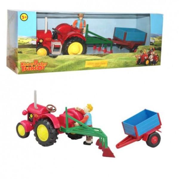 Ausmalbilder Kleiner Roter Traktor  Kleiner roter Traktor Spielset Traktor & Jan Kunststoff