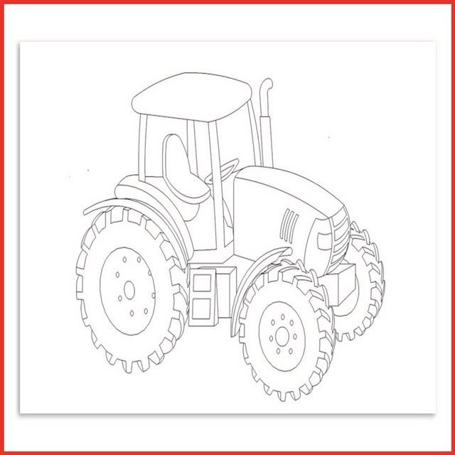 Ausmalbilder Kleiner Roter Traktor  Kika Ausmalbilder Kleiner Roter Traktor Rooms Project