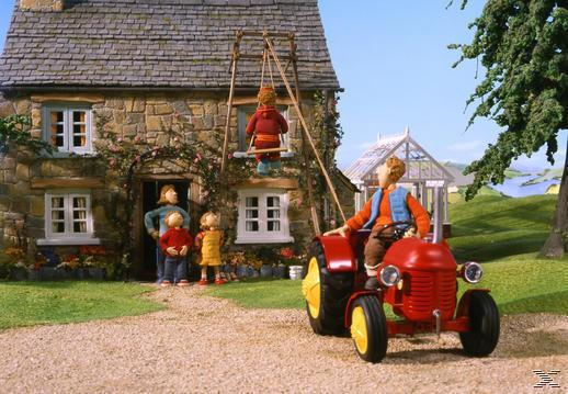 Ausmalbilder Kleiner Roter Traktor  Kinderfilm Kleiner Roter Traktor DVD 1 DVD von expert