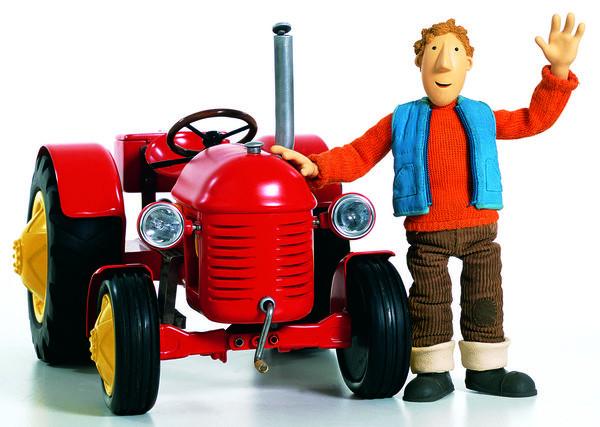 Ausmalbilder Kleiner Roter Traktor  Kleiner Roter Traktor 5 Ein schönes Schlammwetter und 5