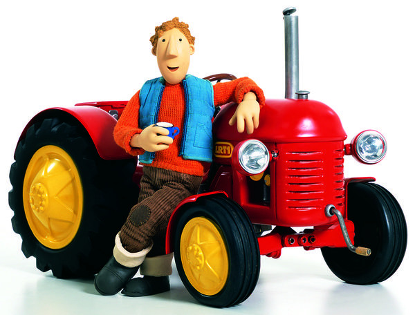 Ausmalbilder Kleiner Roter Traktor  Kleiner Roter Traktor 3 Der Kleine Rote Traktor hat