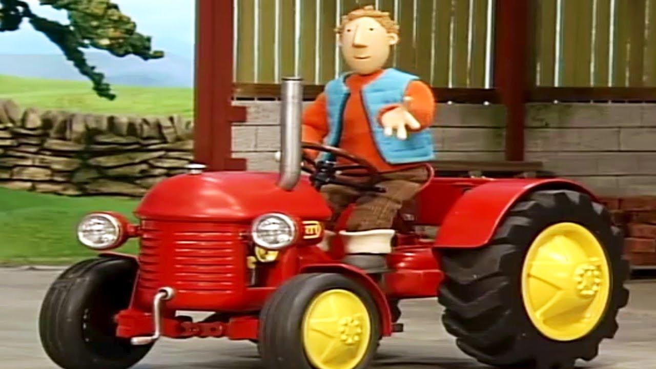 Ausmalbilder Kleiner Roter Traktor  Kleiner Roter Traktor Mach s gut Großer Blauer