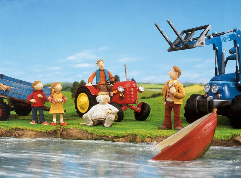 Ausmalbilder Kleiner Roter Traktor  Kleiner Roter Traktor Bilder TV Wunschliste
