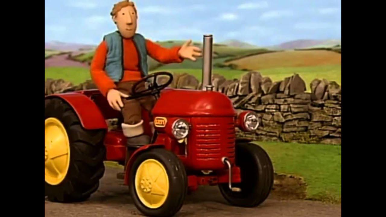 Ausmalbilder Kleiner Roter Traktor  Kleiner Roter Traktor Lichterketten
