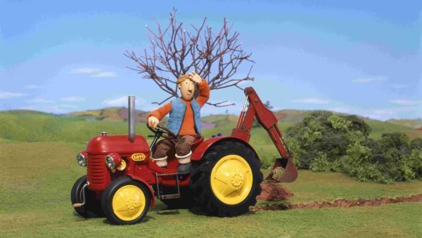 Ausmalbilder Kleiner Roter Traktor  Kleiner Roter Traktor Sendung verpasst