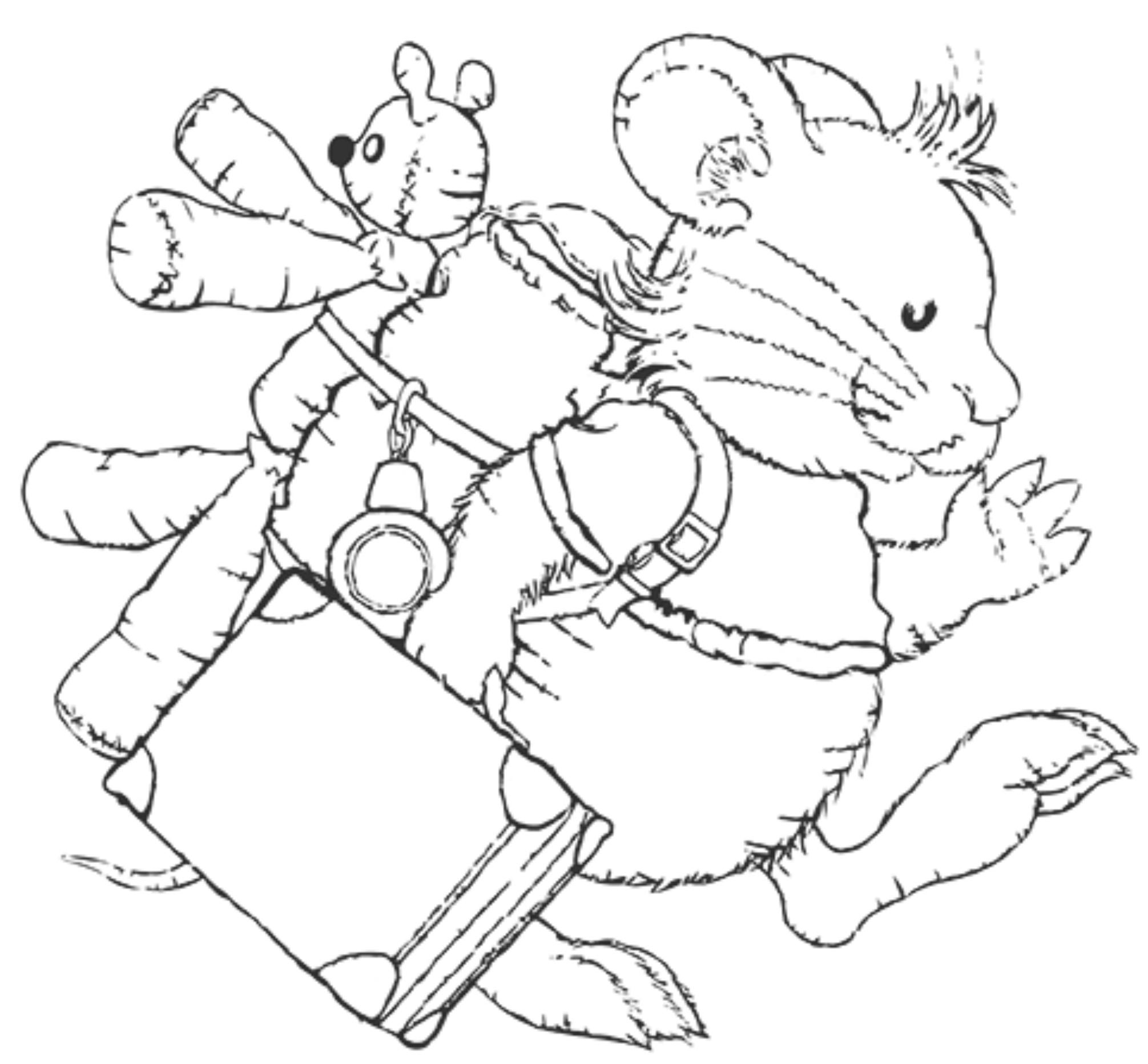Ausmalbilder Leo Lausemaus  Leo Lausemaus – Spielzeug von der kleinen lustigen Maus