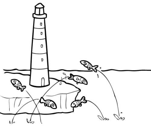 top 20 ausmalbilder leuchtturm  beste wohnkultur