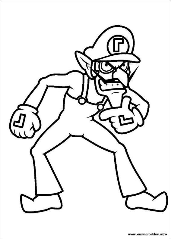 Ausmalbilder Mario Bros  Ausmalbilder für Kinder Malvorlagen und malbuch