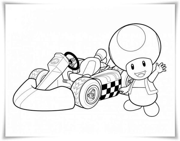 Ausmalbilder Mario Bros  Ausmalbilder zum Ausdrucken Ausmalbilder Mario