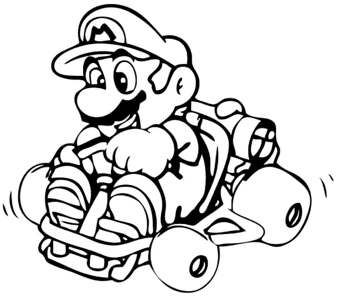Ausmalbilder Mario Bros  Malvorlagen fur kinder Ausmalbilder Mario Bros kostenlos