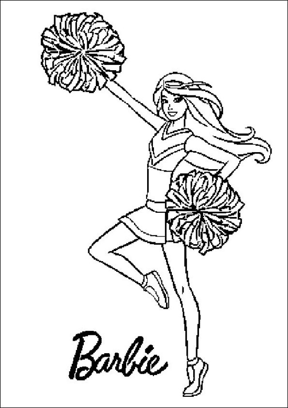 Ausmalbilder Meerjungfrau Barbie  Barbie ausmalbilder 13
