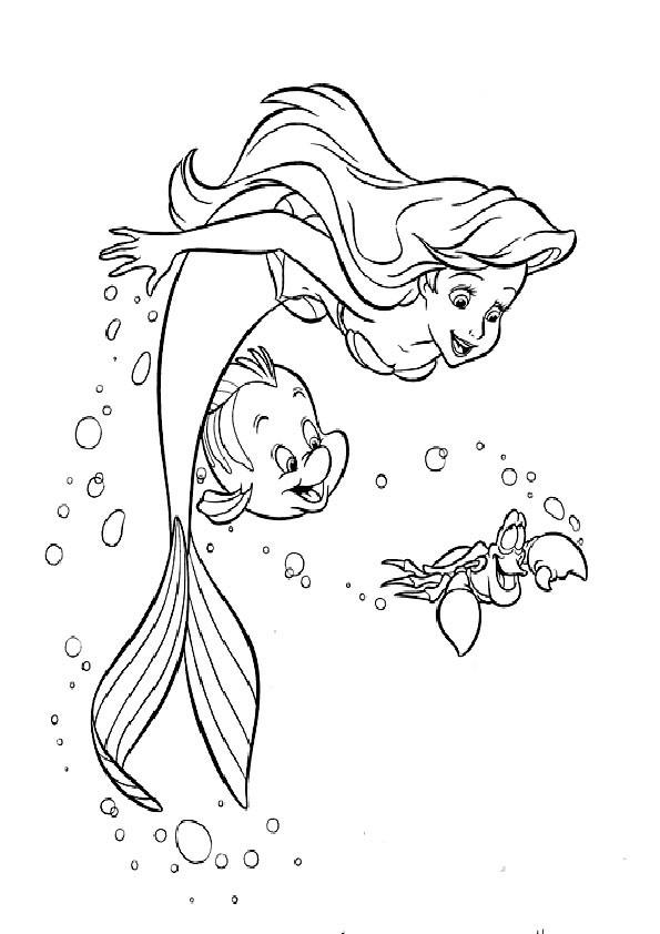 meerjungfrau mit delfin zum ausmalen
