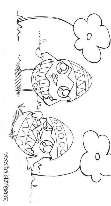 Ausmalbilder Osterküken  Osterhennen zum ausmalen zum ausmalen de hellokids