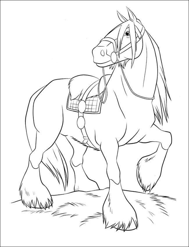 Ausmalbilder Pferde Turnier  Ausmalbilder Pferde 25