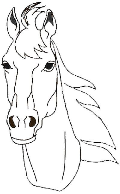 Ausmalbilder Pferdekopf  Die 25 besten Ideen zu Ausmalbilder Pferde auf Pinterest