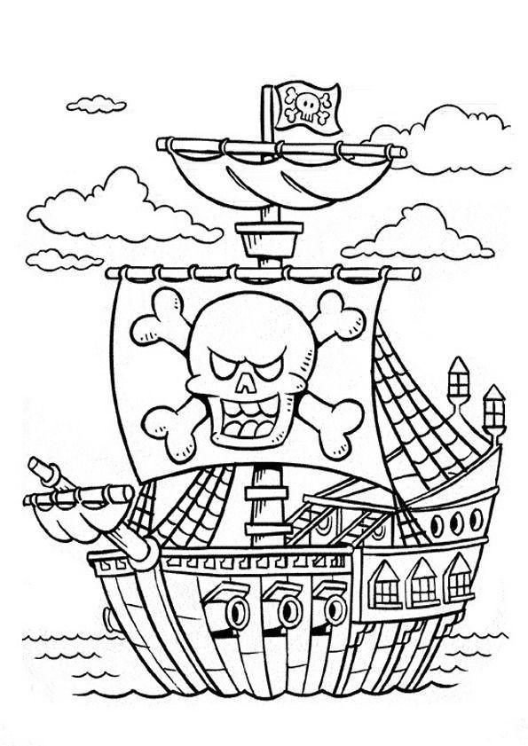 Ausmalbilder Piraten  Ausmalbilder Piraten 20