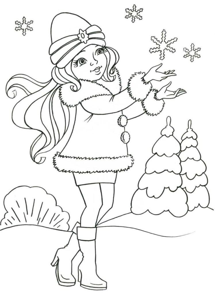 Ausmalbilder Schneeflocken  Schöne Malvorlagen Ausmalbilder Schneeflocke ausdrucken 1