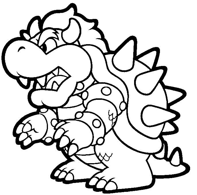 Ausmalbilder Super Mario  Malvorlagen fur kinder Ausmalbilder Super Mario