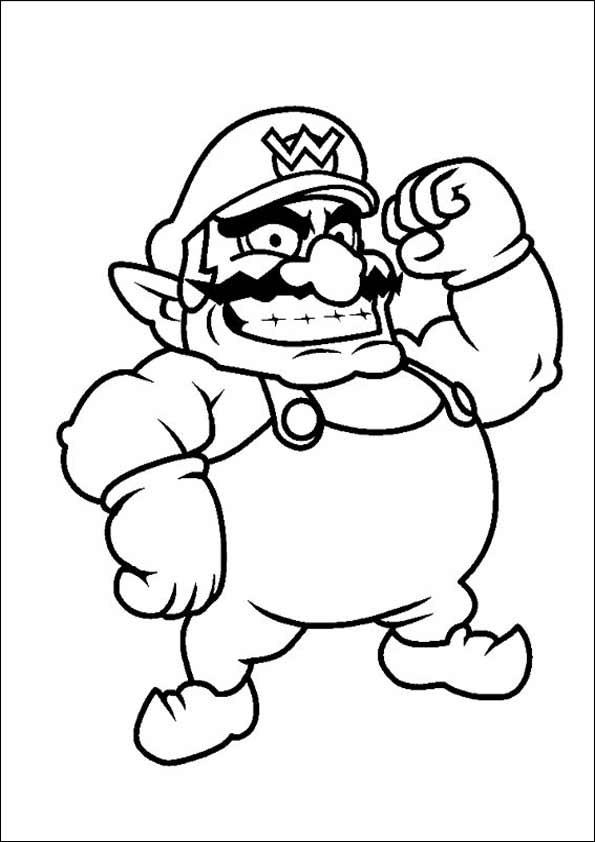 Ausmalbilder Super Mario  Ausmalbilder Super Mario 20