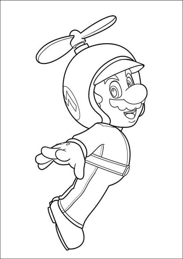Ausmalbilder Super Mario  Ausmalbilder Super Mario 12
