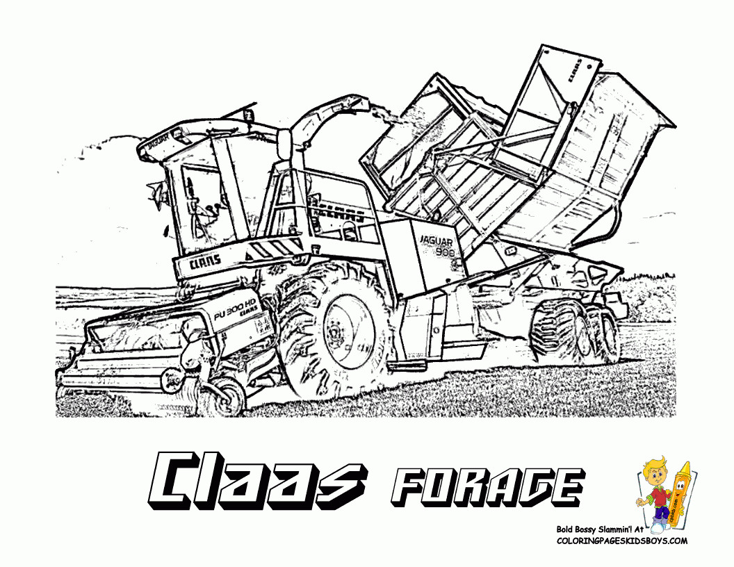 claas beste ausmalbilder traktor  traktor ausmalbilder