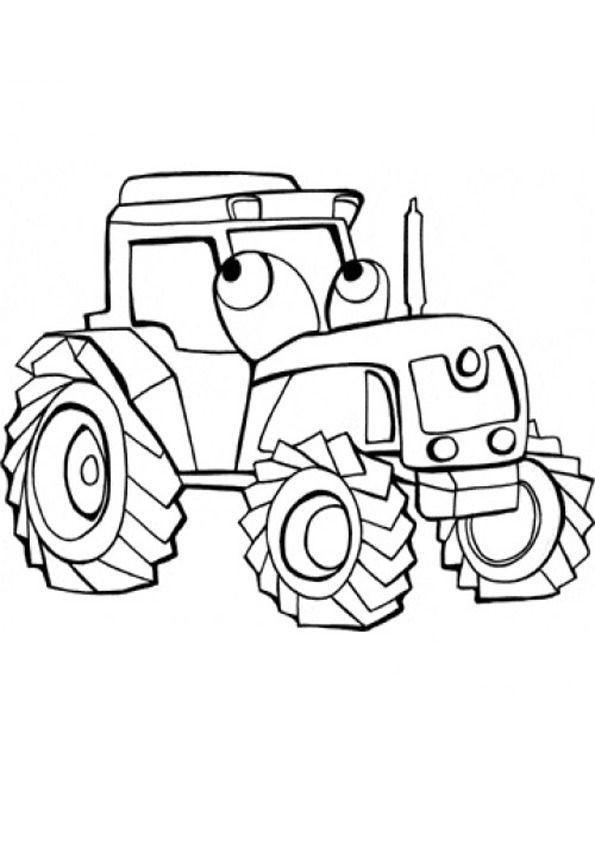 Ausmalbilder Trecker  Ausmalbilder Traktor 22