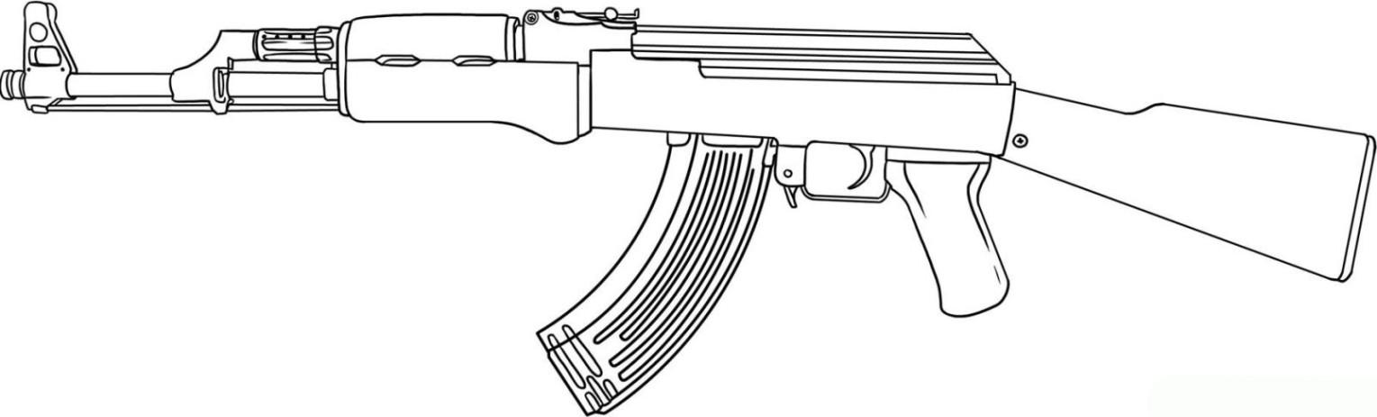 Ausmalbilder Waffen  Ausmalbilder zum Ausmalen Malvorlagen Waffe kostenlos 2
