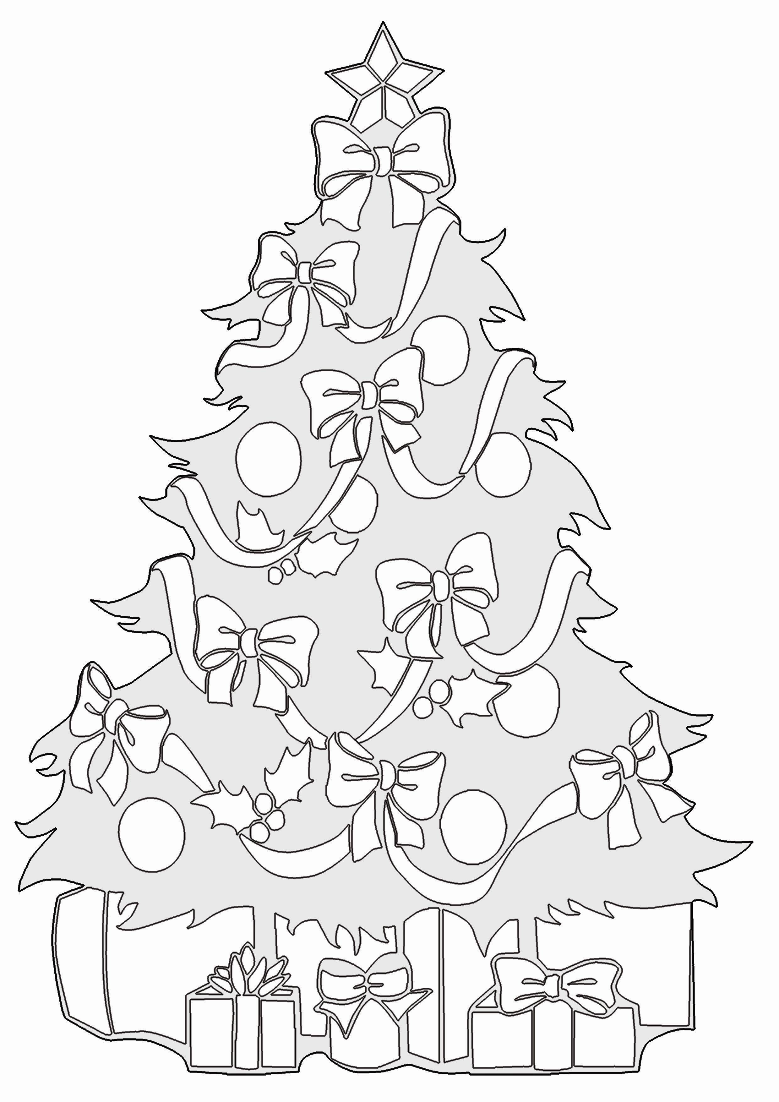 20 besten ideen ausmalbilder weihnachten tannenbaum mit