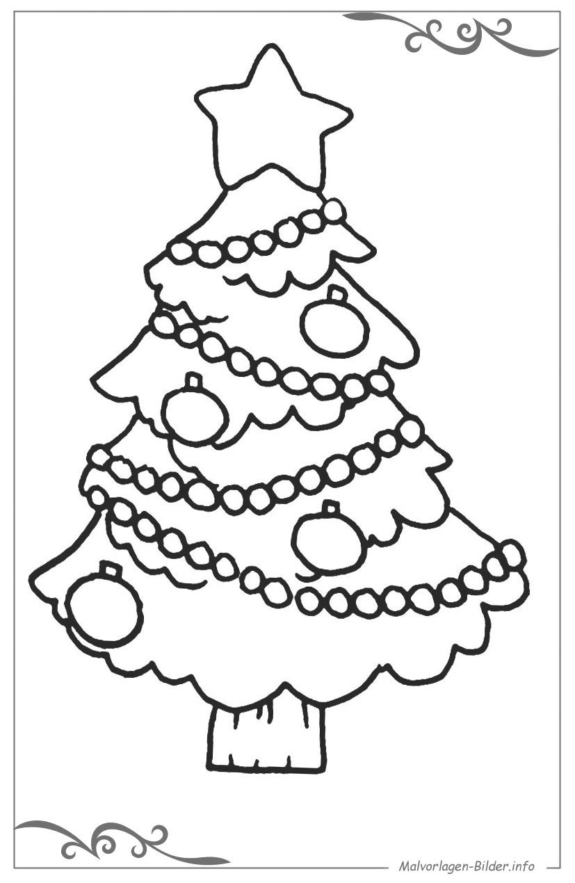 Ausmalbilder Weihnachten Tannenbaum Mit Geschenken  Best 28 Weihnachtsbaum Ausmalen kostenlose malvorlage