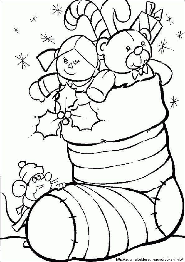 die besten ideen für ausmalbilder weihnachten zum
