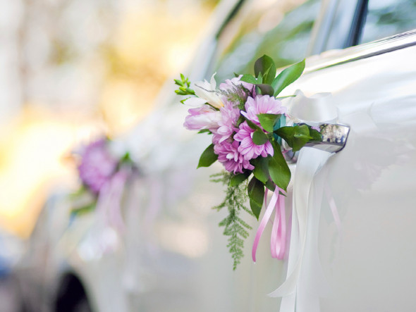 Autoschmuck Hochzeit Befestigung  DIY Autoschmuck für Ihre Hochzeit