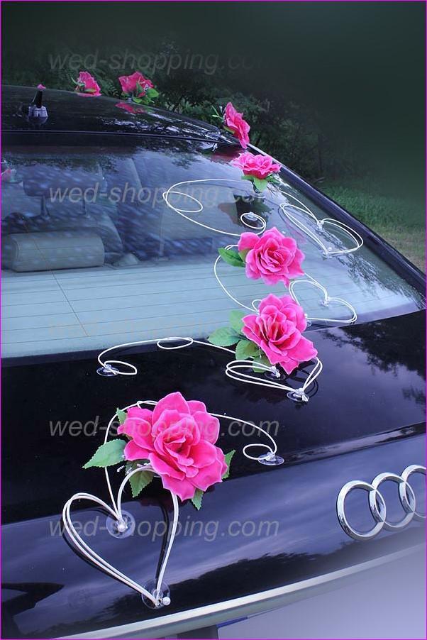 Autoschmuck Hochzeit Befestigung  Autoschmuck Hochzeit