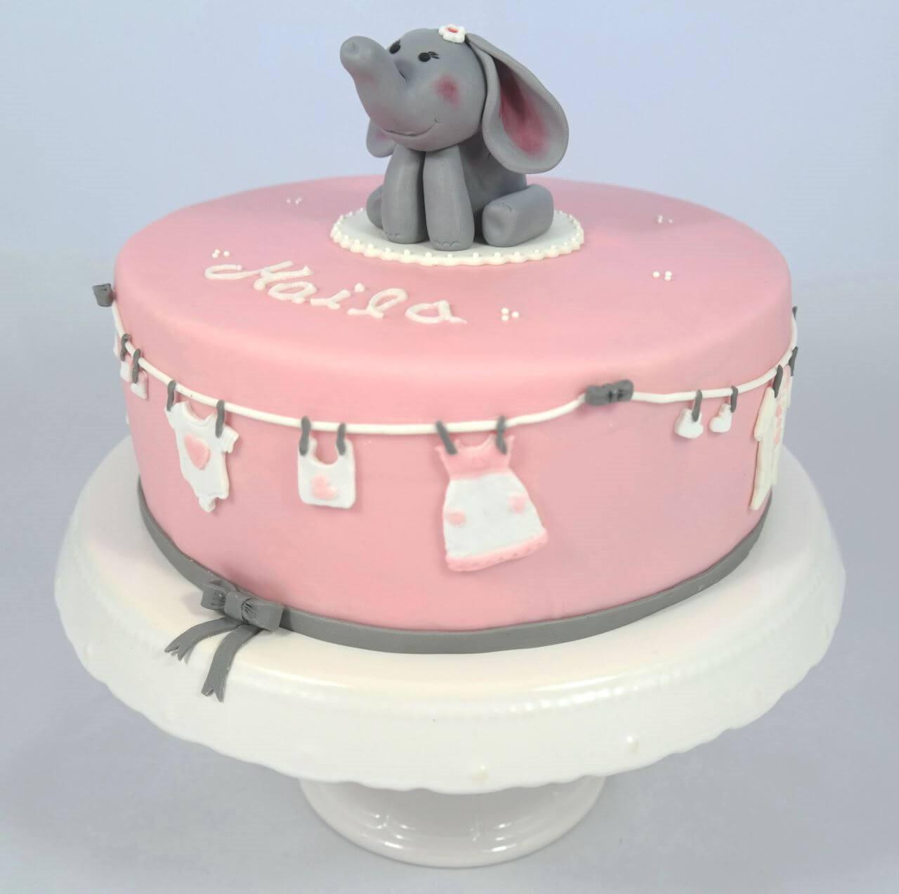 Baby Geburtstagstorte  Babyparty Torte TortenKreation SHS